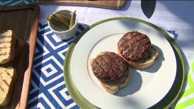 It's National Hamburger Day! Check out this easy way to spice up your sandwich