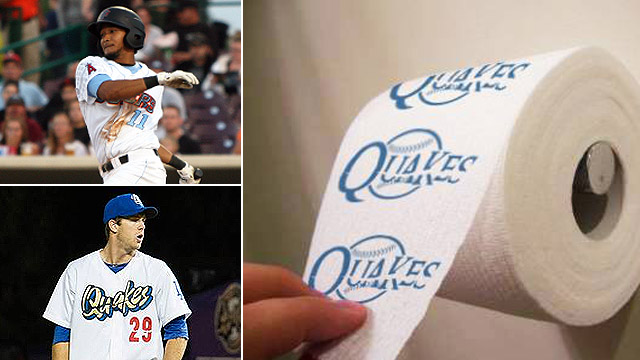 66ers roll out rival-branded toilet paper