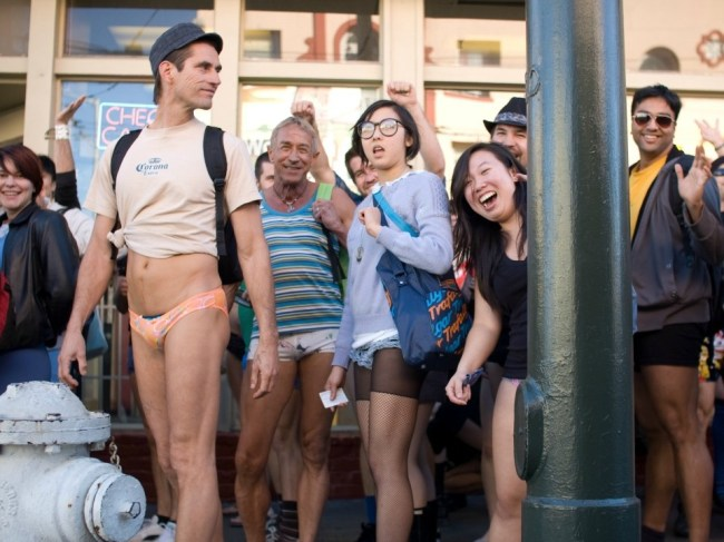 Get Ready For No Pants Day On BART, Muni Tomorrow [Updated]