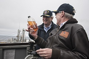SECNAV, SECAG Visit USS William P Lawrence of the Great Green Fleet