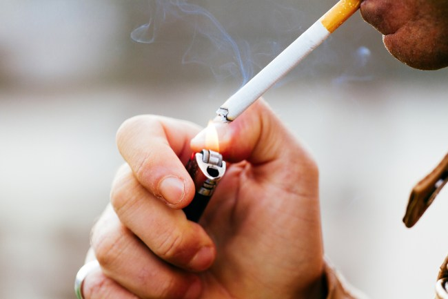Smokers notice negative affect on their oral health