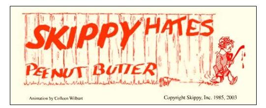 Skippy v. Skippy: The Great Peanut Butter Trademark Wars