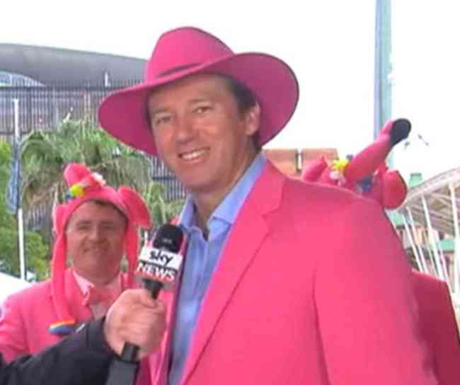 Fans dress in pink for Jane McGrath Day