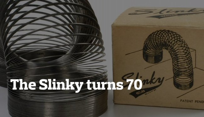 The Slinky turns 70: Retro toy company from NJ celebrates milestone