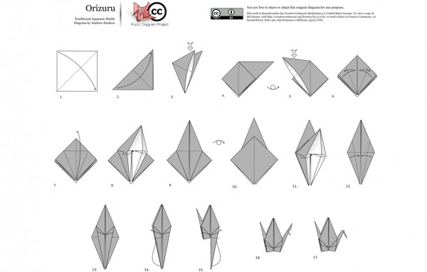 HOW TO: Make an easy origami crane