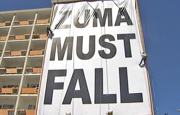 ANC chief whip accuses DA of collusion in Zuma billboard