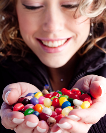 Jelly bean facts and recipes for Easter and National Jelly Bean Day