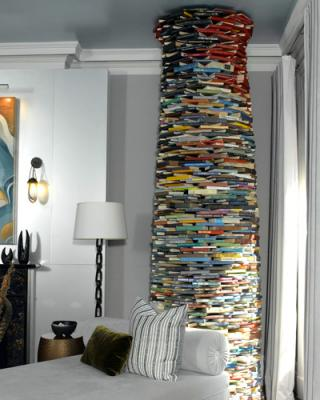 Californications Hank Moodys Crazy Bookstack Rethinking Bookcases