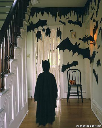 bat silhouettes spooky halloween idea Halloween, Martha Style