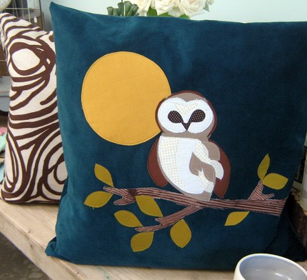 owl pillow from annajoyces shop on etsy Hoot if You Love Owls