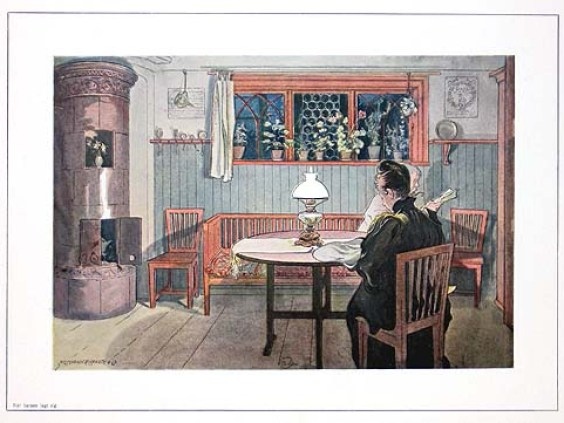 larssons swedish country home Carl Larsson's Inspirational Interiors