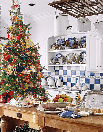 kitchen christmas tree by country living Oh Christmas Theme, Oh Christmas Theme . . .