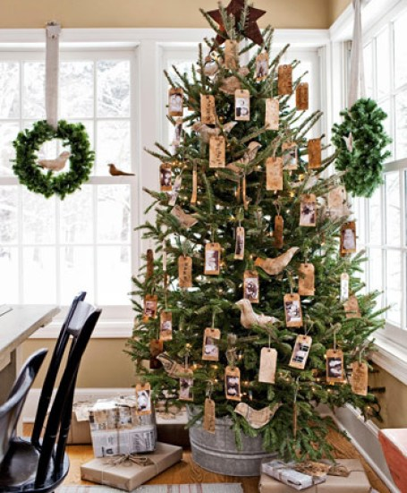 name tag tree from country living Oh Christmas Theme, Oh Christmas Theme . . .