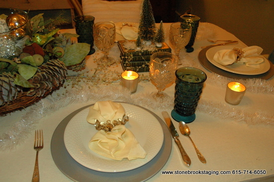 DSC 1000 Dinner Party with a Winter Forest Theme