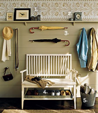 entryway storage by martha stewart Stylish Storage
