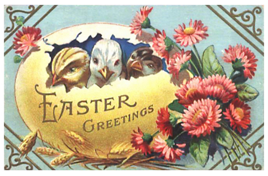 EA 84 Vintage Easter Downloads