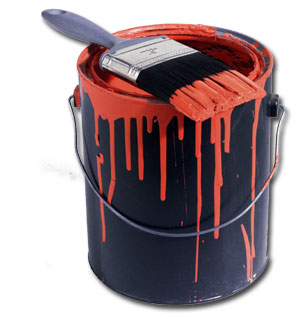 paint can via co ho md us Why Men Fear Painting Wood