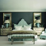 blue bedroom symmetry via decorpad