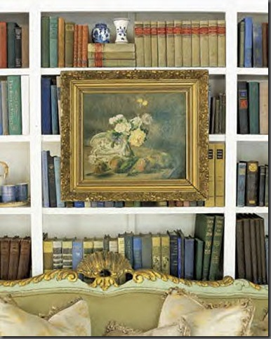 art on bookcase by annie brahler Ever Thought of Hanging Art Here?