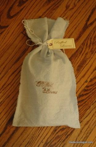 DSC 5936 Handmade Linen Napkins Giveaway!