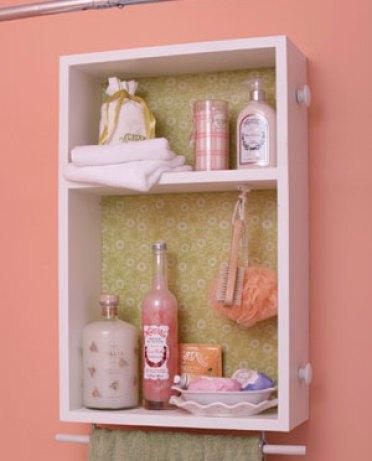 drawer medicine cabinet via bhg Upcycled Cottage Style Furniture