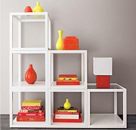 Crate and Barrel Mimic Cube How to Use IKEAs LACK Tables   Let Me Count the Ways . . .