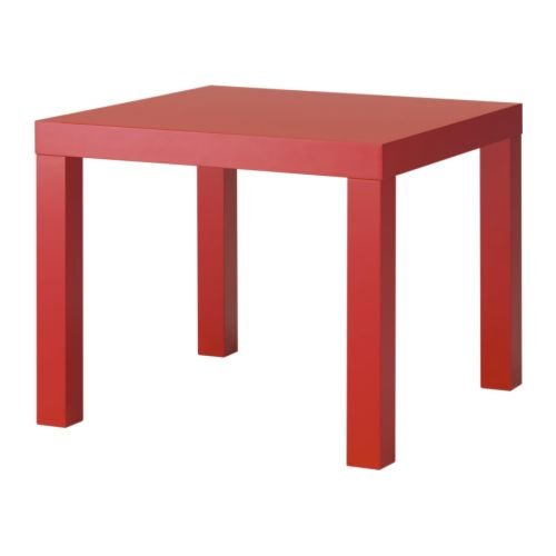 red ikea lack table How to Use IKEAs LACK Tables   Let Me Count the Ways . . .