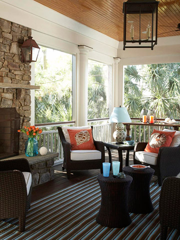 sunroom via bhg An Explicit Discussion About Lighting by The Decorologist