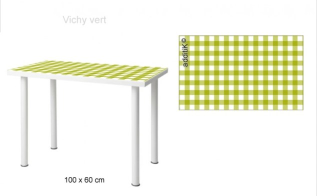 Mvika100x60 B vichyvert How To Personalize IKEA Furniture   A Decorologist Tutorial for Additik Stickers