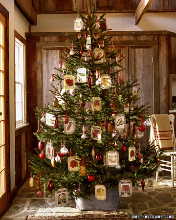 garden tree via martha Oh Christmas Theme, Oh Christmas Theme . . .
