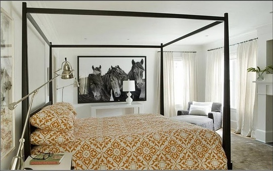 horse trend art via thischarminghouse blogspot Galloping into a Home Near You   The Horse Trend