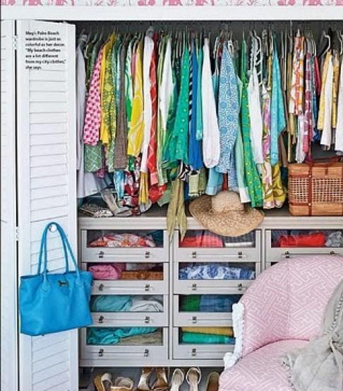 colorful closet Closet Case