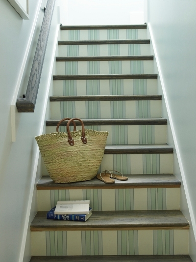 blue striped stairs phoebe howard Stairways to Heaven