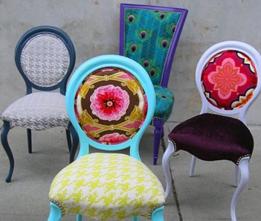 quirky chairs via pinterest What The Bachelor Can Teach You About Decorating