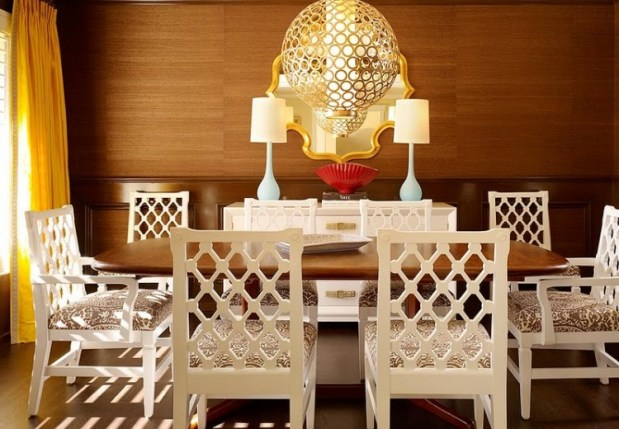 white dining chairs via kcinteriors wordpress DIY Designer Chairs