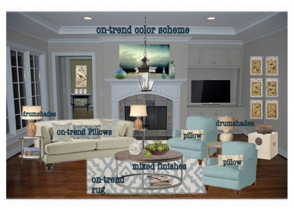 OB make space updated 600x428  Home Staging Advice from 10 Experts