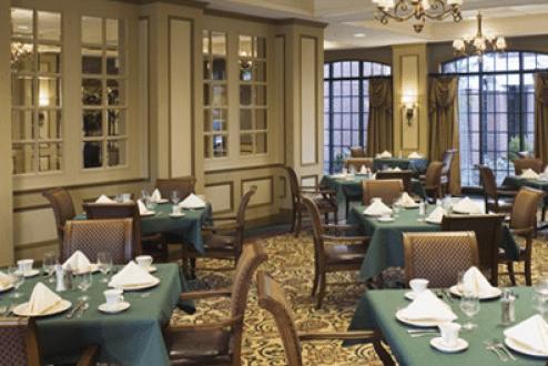 the cumberland nashville dining room