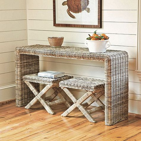 rattan set Can You Use Outdoor Furniture Indoors?