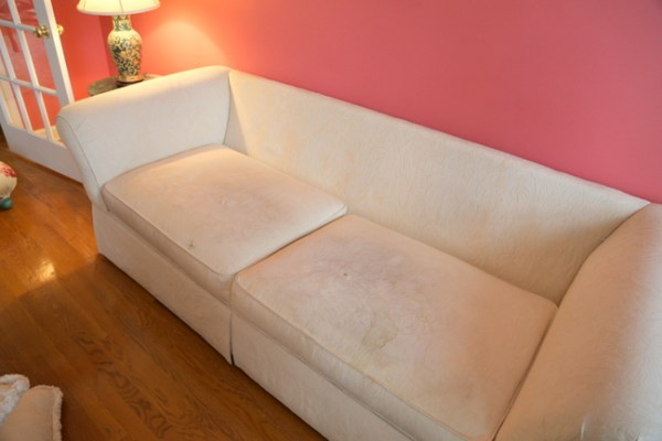 7O3A4510 600x400 Staging a Dated Sofa   Styling Tricks from The Decorologist