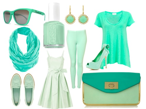 mintgreen Could Mint Green Be the New Spa Blue?