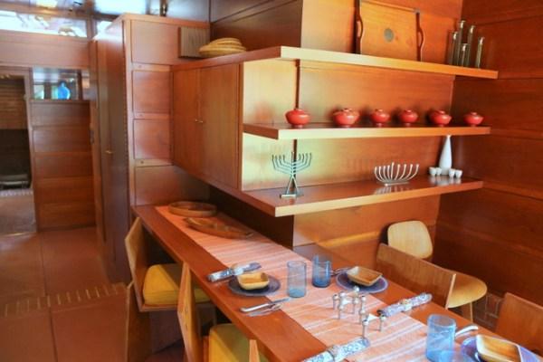 7O3A9027 600x400 Frank Lloyd Wrights Rosenbaum House Tour