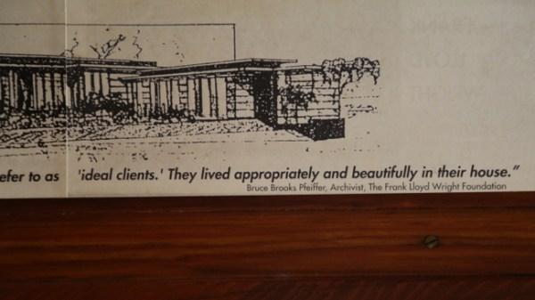 7O3A9057 600x337 Frank Lloyd Wrights Rosenbaum House Tour