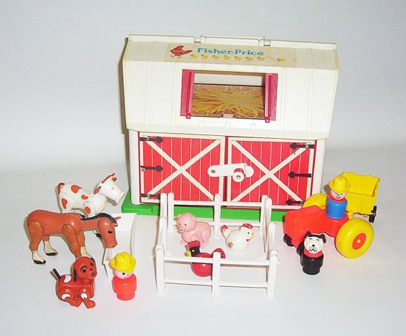 fisher price farm Decorating in the Twilight Zone