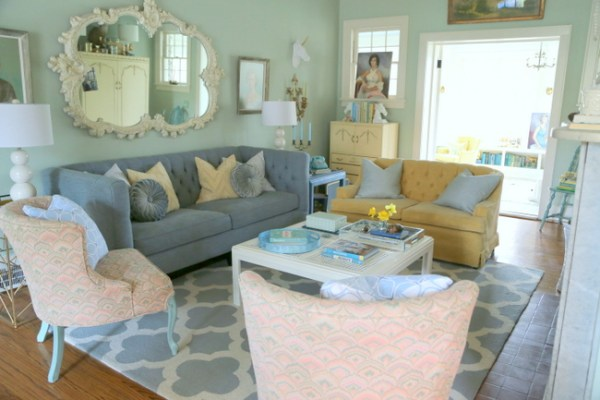 7O3A5039 600x400 I Go Kicking and Screaming   Eclectically Fall Home Tour