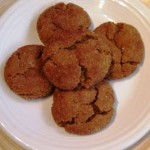 A Dairy-Free Christmas: Ginger Snaps