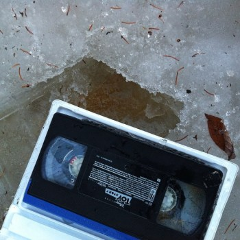 We found this video tape on our walk and my…