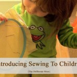 Sewing With Children