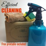 My Cleaning Routine {Free Printable Included}