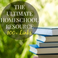 The Ultimate Homeschool Resource Page