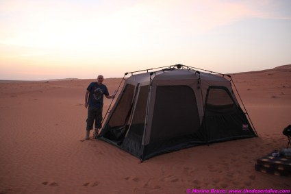 then once more we would camp for the night, at least 50kms from the nearest civilisation. Perfect!